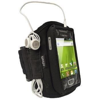 Samsung Galaxy Mini S5570 iGadgitz Urheilukotelo Käsivarteen Musta
