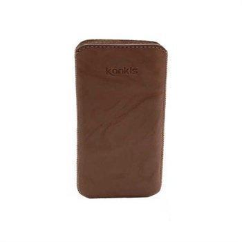 Samsung Galaxy Nexus I9250 Konkis Leather Case Washed Olive Brown