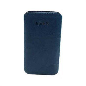 Samsung Galaxy Nexus I9250 Konkis Leather Case Washed Turquoise