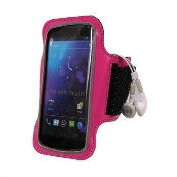 Samsung Galaxy Nexus i9250 iGadgitz Neoprene Armband Pink