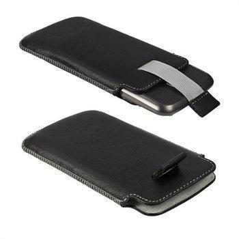 Samsung Galaxy Nexus iGadgitz Nahkakotelo Musta