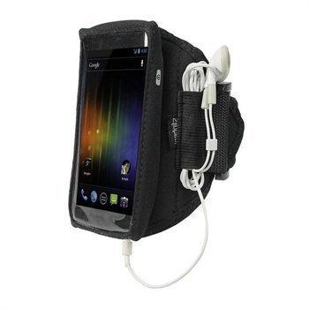 Samsung Galaxy Nexus iGadgitz Urheilukotelo Käsivarteen Musta