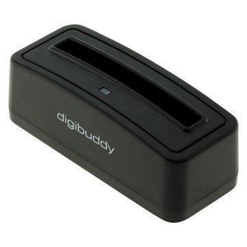 Samsung Galaxy Note 2 N7100 Digibuddy 1301 Akkulaturi Musta