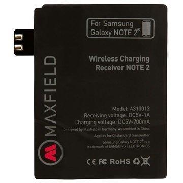 Samsung Galaxy Note 2 N7100 Maxfield Qi Langaton Latausvastaanotin