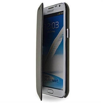 Samsung Galaxy Note 2 N7100 Starcase New Amsterdam Kirjamallinen Kotelo Musta