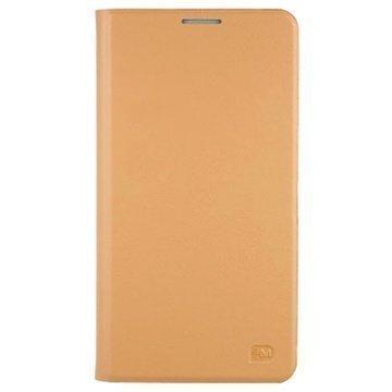 Samsung Galaxy Note 3 Anymode Hardback Stand Suojakotelo Beige