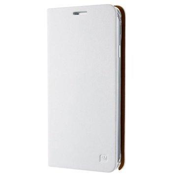 Samsung Galaxy Note 3 N9000 Anymode Diary Wallet Nahkakotelo Valkoinen