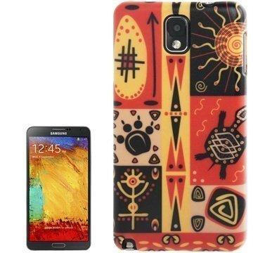 Samsung Galaxy Note 3 N9000 N9005 Tuff-Luv Navajo Aztec Kotelo Tiva