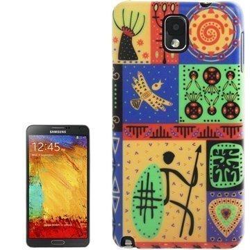 Samsung Galaxy Note 3 N9000 N9005 Tuff-Luv Navajo Aztec Kotelo Uzumati