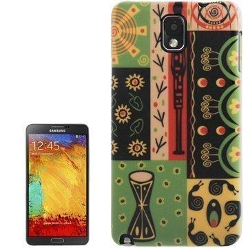 Samsung Galaxy Note 3 N9000 N9005 Tuff-Luv Navajo Aztec Kotelo Viho