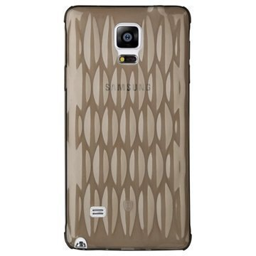 Samsung Galaxy Note 4 Baseus Air Bag Series TPU Kotelo Musta