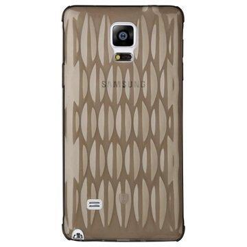 Samsung Galaxy Note 4 Baseus Air Bag Series TPU Kotelo Musta
