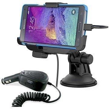 Samsung Galaxy Note 4 KiDiGi Autotelinesarja Musta