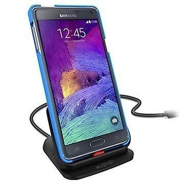 Samsung Galaxy Note 4 KiDiGi Ultraohut Pöytälaturi Musta