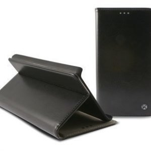 Samsung Galaxy Note 4 Ksix Folio Nahkakotelo Musta