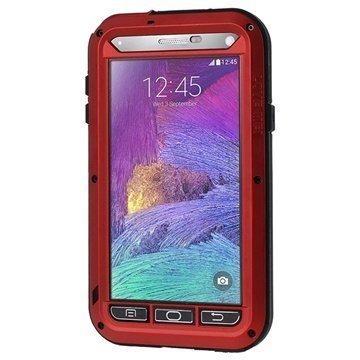 Samsung Galaxy Note 4 Love Mei Powerful Hybrid Suojakuori Punainen