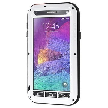 Samsung Galaxy Note 4 Love Mei Powerful Hybrid Suojakuori Valkoinen