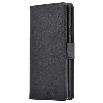 Samsung Galaxy Note 4 Naztech Katch Lompakkomallinen Kotelo Musta