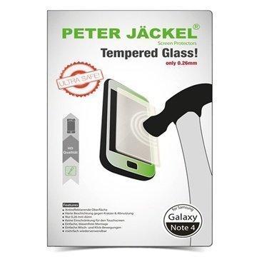 Samsung Galaxy Note 4 Peter Jäckel Ultraohut Karkaistu Näytönsuoja