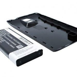 Samsung Galaxy Note 4 SM-N910 tehoakku erillisellä takakannella 6400 mAh