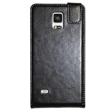 Samsung Galaxy Note 4 UreParts Läppäkotelo Musta