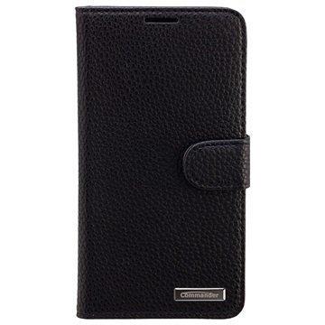 Samsung Galaxy Note 5 Commander Elite Book Kotelo Musta
