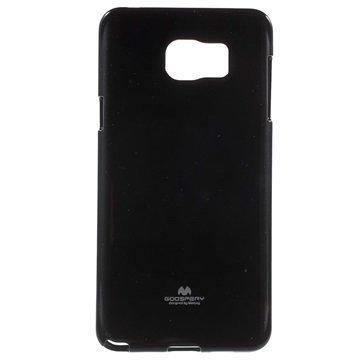 Samsung Galaxy Note 5 Mercury Goospery TPU Kotelo Musta