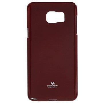 Samsung Galaxy Note 5 Mercury Goospery TPU Kotelo Punainen