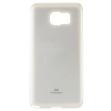 Samsung Galaxy Note 5 Mercury Goospery TPU Kotelo Valkoinen