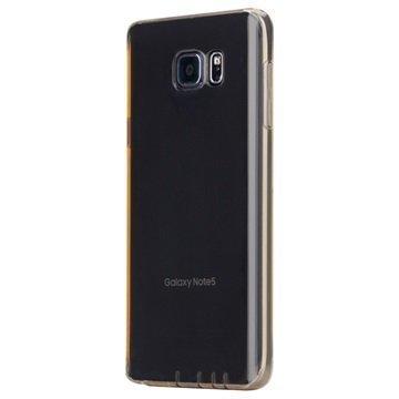 Samsung Galaxy Note 5 Rock Ultrathin Series Ultraohut TPU-Kotelo Kulta