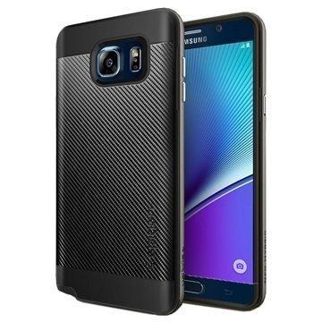 Samsung Galaxy Note 5 Spigen Neo Hybrid Carbon Kotelo Asemetalli