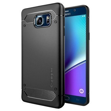 Samsung Galaxy Note 5 Spigen Ultra Rugged Capsule Case Black