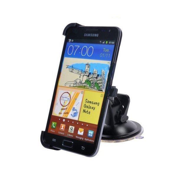 Samsung Galaxy Note Autoteline Musta