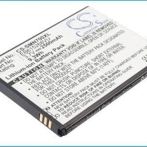 Samsung Galaxy Note GT-N7000 GT-I9220 SGH-i717 Galaxy Note LTE GT-I9200 tehoakku 2500 mAh