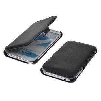 Samsung Galaxy Note II N7100 StarCase Paris Book Case Black