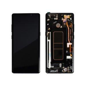 Samsung Galaxy Note8 Näyttö & Runko Musta