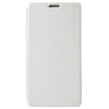 Samsung Galaxy On7 Kalaideng L Series Läppäkotelo Valkoinen