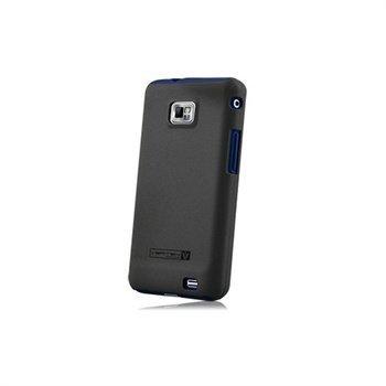 Samsung Galaxy S 2 I9100 Naztech Vertex 3-kerroksinen Kotelo Sininen
