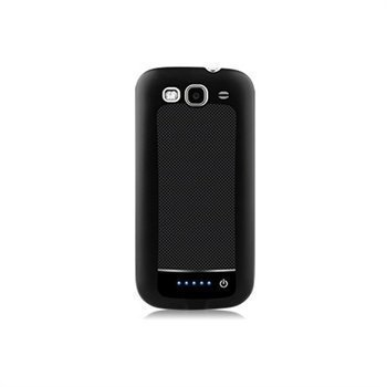 Samsung Galaxy S 3 I9300 Naztech 2400mAh Power Case Black