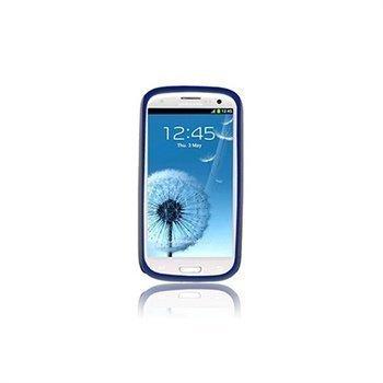 Samsung Galaxy S 3 I9300 Naztech Vertex 3-kerroksinen Kotelo Sininen