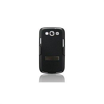 Samsung Galaxy S 3 Naztech DoubleUp Suojakotelo Musta