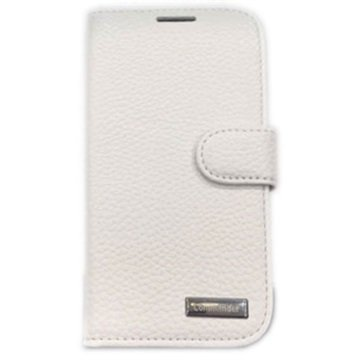 Samsung Galaxy S 3 i9300 Commander Leather Case Elite White