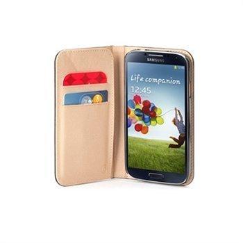 Samsung Galaxy S 4 I9500 Griffin Midtown Wallet Nahkakotelo Musta