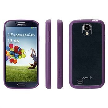 Samsung Galaxy S 4 I9500 Griffin Reveal Snap-On Kotelo Violetti