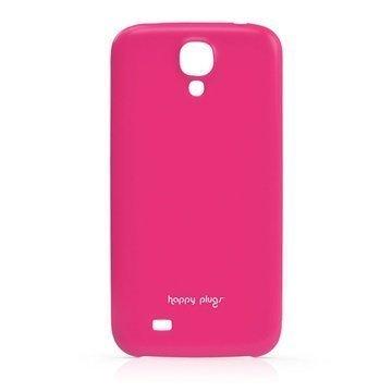 Samsung Galaxy S 4 I9500 I9505 Happy Plugs Ohut Suojakotelo Kirsikka