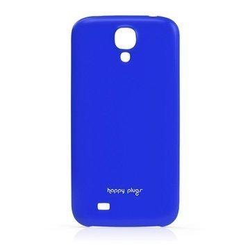 Samsung Galaxy S 4 I9500 I9505 Happy Plugs Ohut Suojakotelo Kobaltti