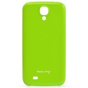Samsung Galaxy S 4 I9500 I9505 Happy Plugs Ohut Suojakotelo Vihreä
