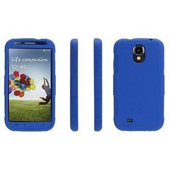 Samsung Galaxy S 4 I9500 I9505 I9502 Griffin Survivor Silikonikotelo Sininen