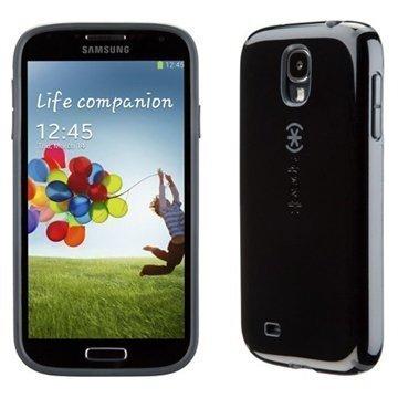 Samsung Galaxy S 4 I9500 I9505 Speck Candyshell Kotelo Musta / Liuskekivi Harmaa