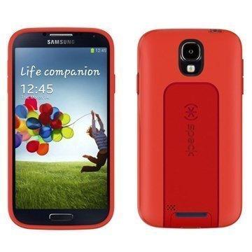 Samsung Galaxy S 4 I9500 I9505 Speck Smart Flex View Kotelo Punainen / Sininen